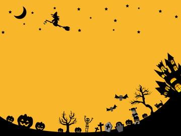 ハロウィン背景&フレーム枠の無料のイラスト素材!厳選8サイト