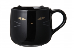 haloween cat mug