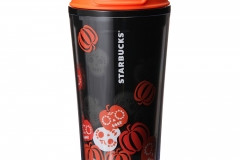 haloween party night tumbler