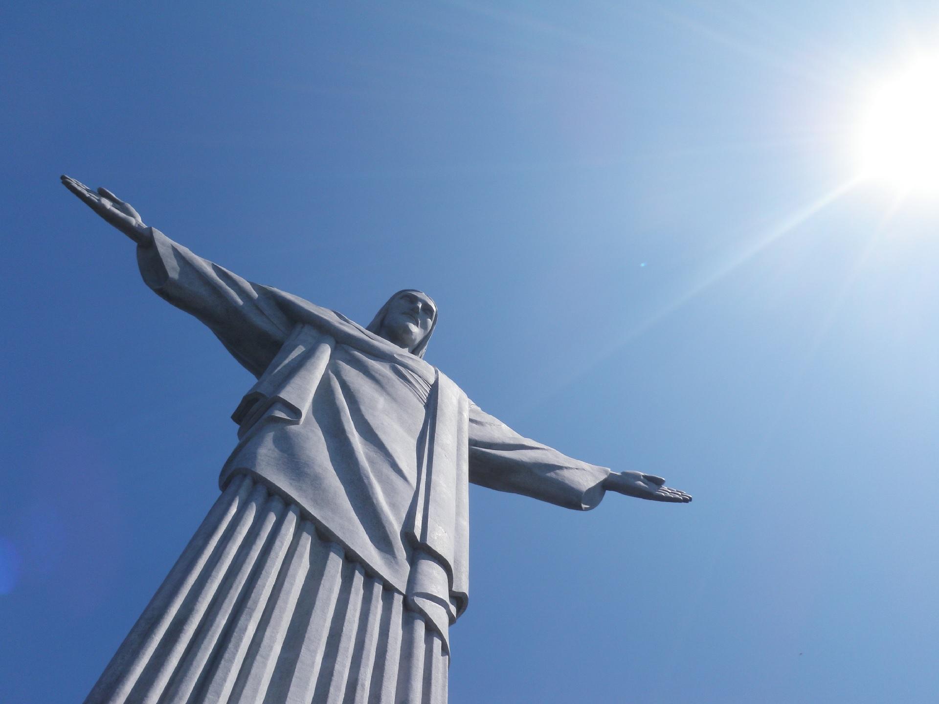 リオデジャネイロのイエスキリスト像