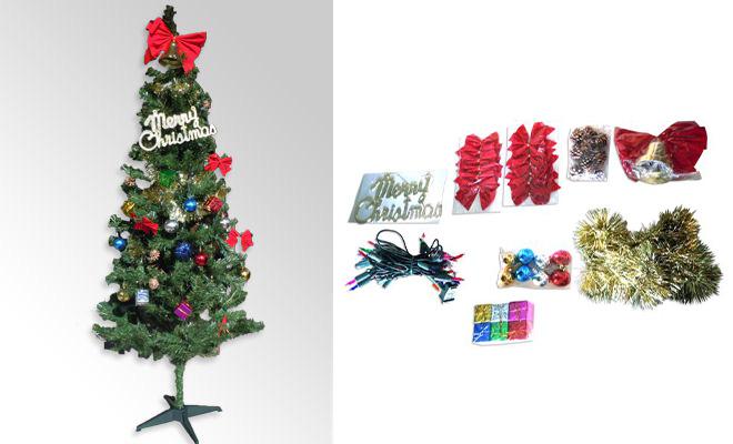 イベント21のクリスマスツリーセット