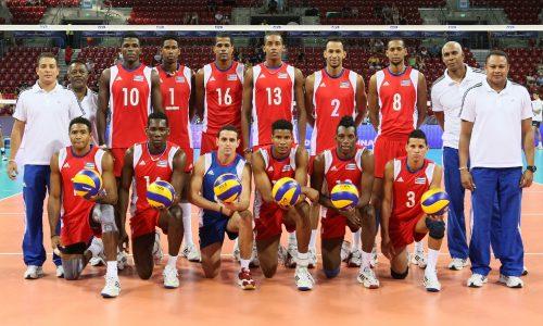 キューバ男子バレーボールチーム