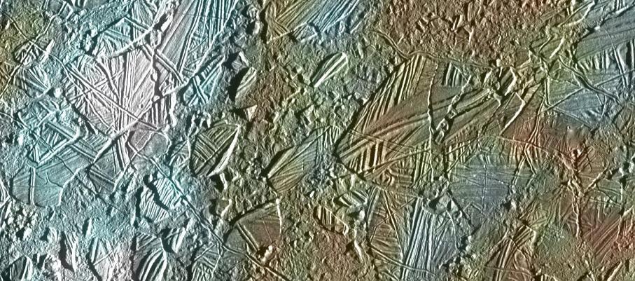 エウロパの表面