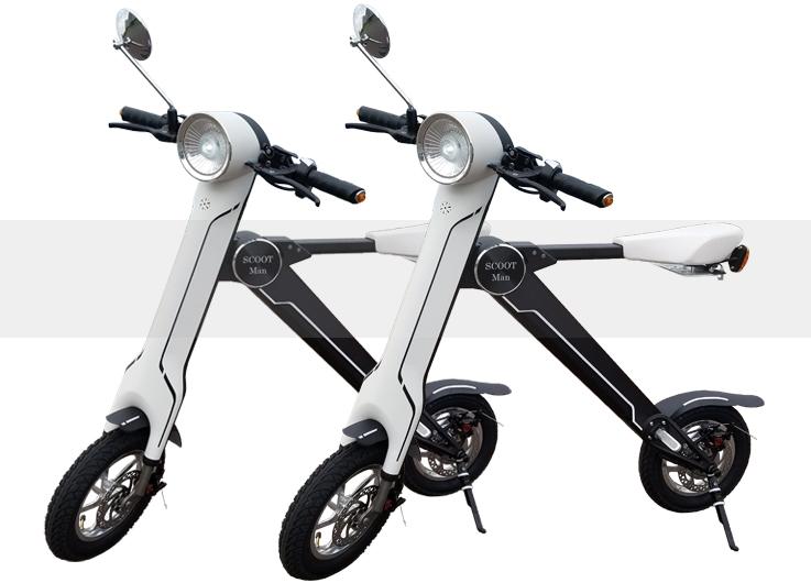 電動スクーター ScootMan