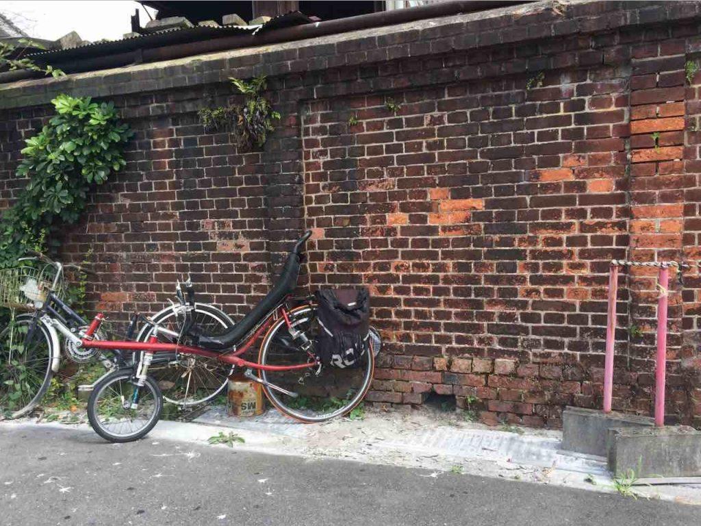 小路啓之さんのリカンベント自転車