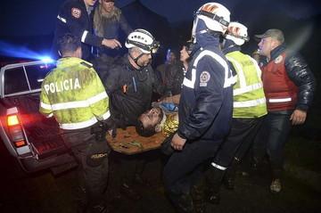 救出された生存者 ©Mirror