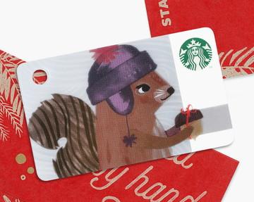 ミニ スターバックス カード スクイール