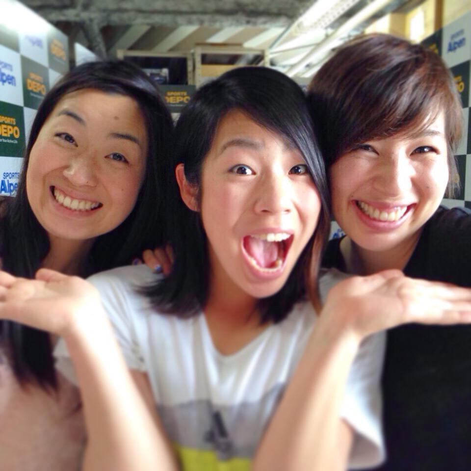 モーグル三姉妹