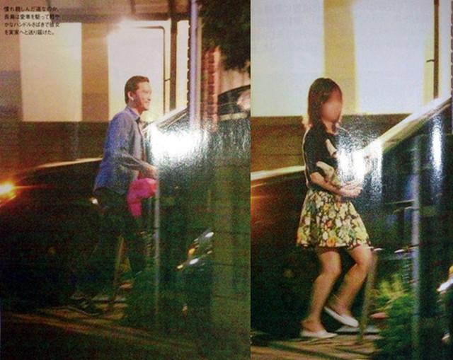 長瀬智也と東山加奈子の女性セブンのスクープ写真