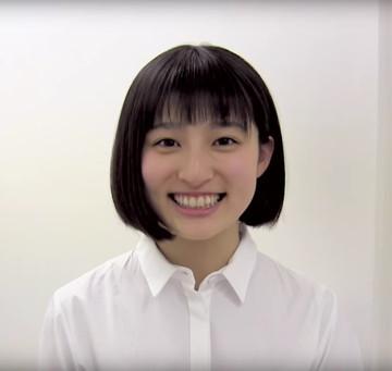 吉川愛さん(研音動画から)