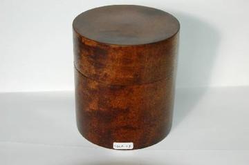 円筒の弁当箱(かえで)