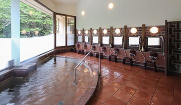 上高地アルペンホテルの展望浴場
