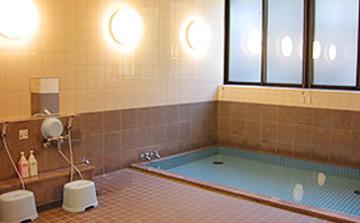 小梨の湯の浴室