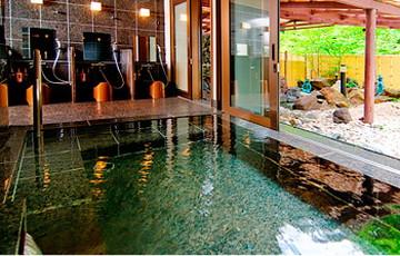 上高地ルミエスタホテルの内風呂