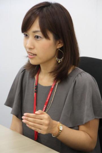 株式会社ザッパラス時代の阿部由希奈さん