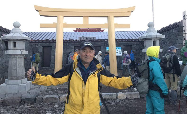 實川欣伸が富士山に登る理由とは?ヤバイ記録やプロフィール調査