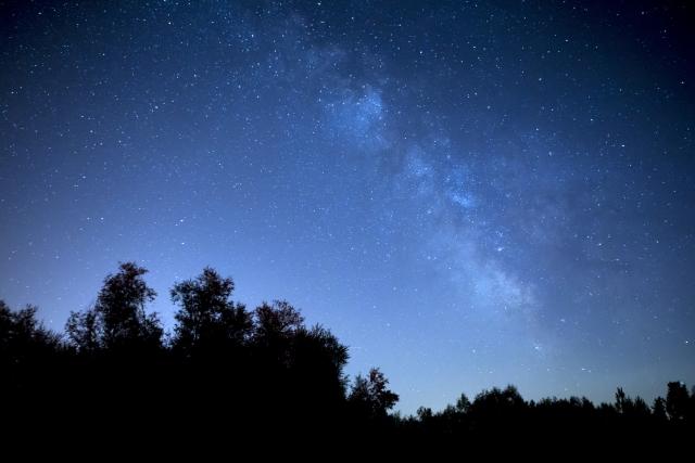星空の綺麗な場所