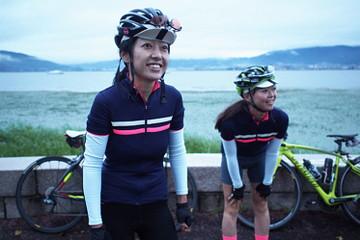 サイクリスト 岩柳麻子さん