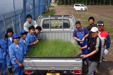 名久井農業高校の生徒さんたち