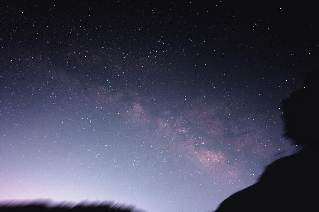 ヤビツ峠で摂られた夏の銀河