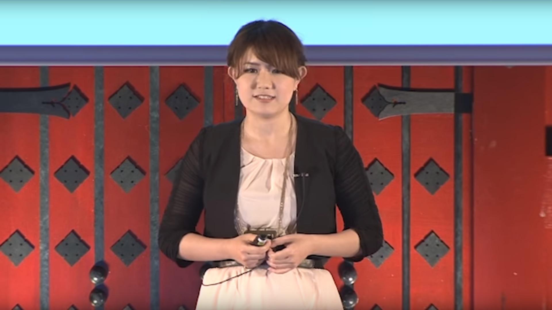 玉城絵美さん(TEDxUTokyo)