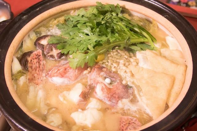 オニカサゴの鍋
