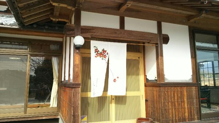 秋翠亭の入り口