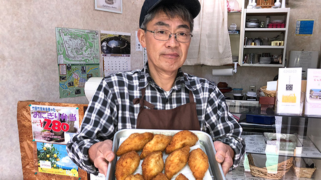 カレーパンと瀧下雅幸さん