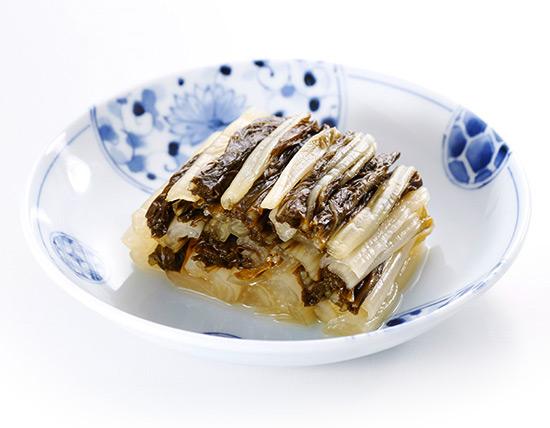 石川漬物の「しゃくし菜漬」