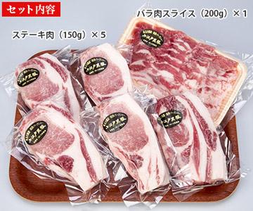 「小江戸黒豚」ステーキ肉セット