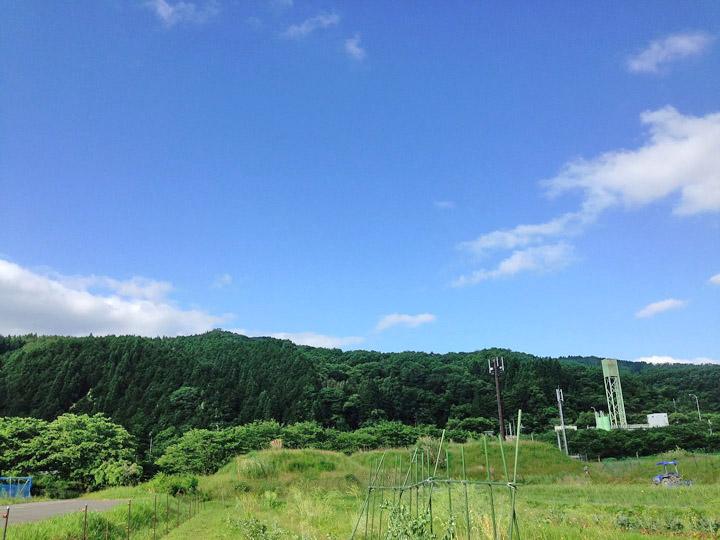 自然がいっぱいの兵庫県佐用町