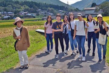坂折棚田のガイドツアー