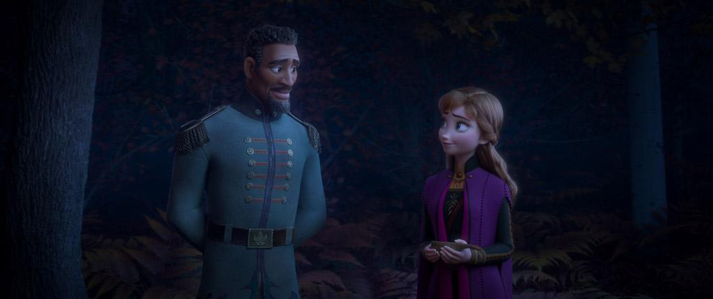 マティアス中尉とアナ