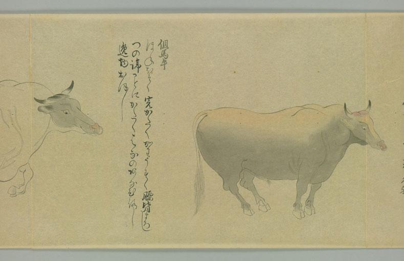 但馬牛(国牛十図から)